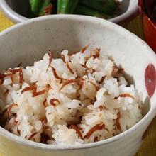 あみえび山椒の混ぜ込みご飯